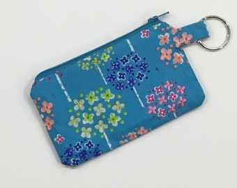 Small Lined Zipper Pouch