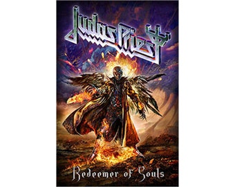 Judas Priest - Redeemer of Souls - Official Textile Poster Flag