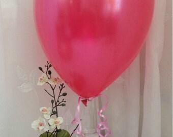 Ballon Rose Chaud Rose - ballons-a-gogocom
