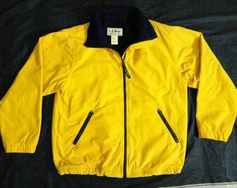 Vintage L.L Bean 3 Season Jacket Womens Medium Fleece Lining