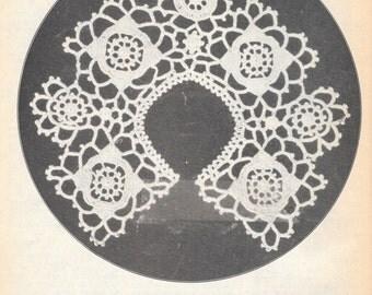 Collar in Arabian Crochet