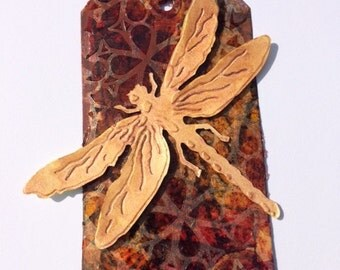 Dragonfly Tag/Bookmark