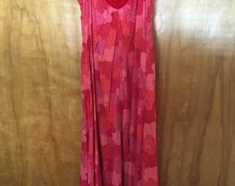 Red Liberty House Maxi Dress Bete Collection