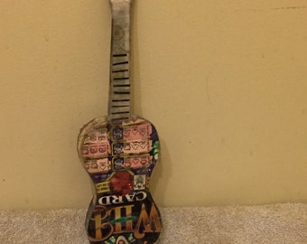 Instruments made of losing lottery tickets