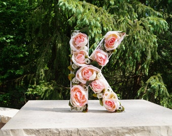 3D Floral Letters