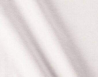 White Cotton Interlock Fabric