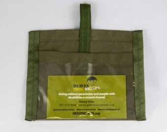 HEAVENDROPt Parachute ID Badge Holder (Honoring Veterans & the Disabled)