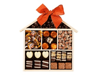 Welcome Home Chocolate, Welcome Home Gift, Welcome to Your New Home, New Home Gift, Housewarming Gift, New Neighbor Gift,