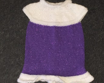 Baby girls knitted dress