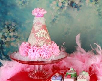 Girls Princess Birthday Hat