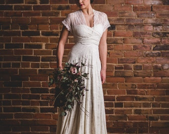 Florence with full lace overlay // infinity dress, convertible wedding gown