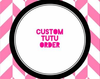 Custom Tutu Order Set
