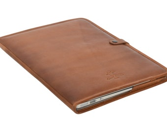 """Gusti Leder 'Damon' Laptoptasche-13"""" MacBook Air Notebooktasche"""