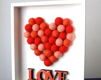 Three-dimensional Love box