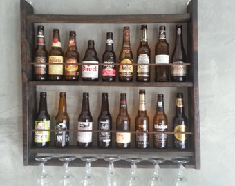 SHELF FOR BOTTLES