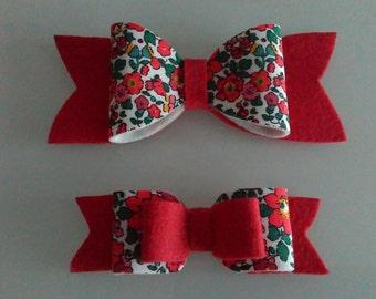 Liberty London fabric bows