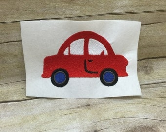 Car Embroidery Design, Childerens Car Embroidery Design