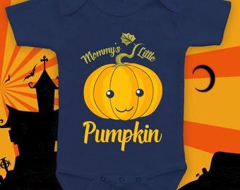 Mommy's Little Pumpkin bodysuit, baby 1st halloween, baby halloween costume, kids costume, halloween onesie, costume onesie - CCB-272