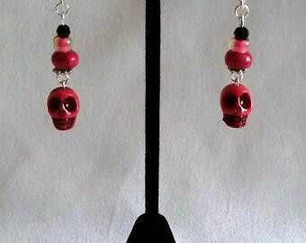 Drop Pink Skulls