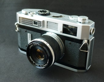 Canon 7 Rangefinder Camera with Canon 50mm f/2.8 Lens
