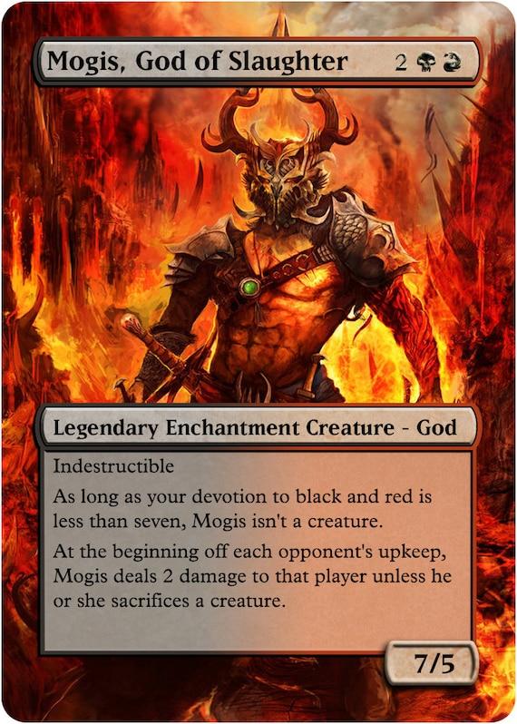 Mogis God of Slaughter Custom Art Foil or Non by ...