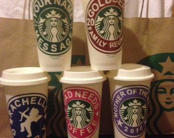 Starbuck personalized cup for all occasions