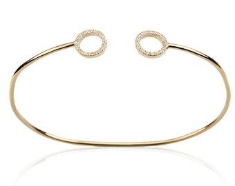 Gold open bangle, Adjustable gold bracelet, Elegant bracelet, Stackable bracelet, Gold open cuff, Minimal bracelet, Open cuff bracelet