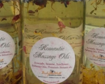 Top grade Spa Massage Oil, Organic dry oils, leave you clean. nonstaining, perfect for deep massage at home or in the spa, Lavender petals,