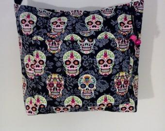 Sugar Skulls shoulder bag.