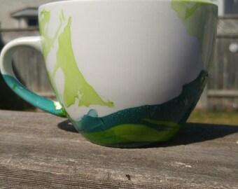 Green Planter Mug