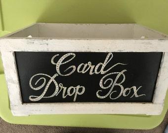 Card Box Chalkboard