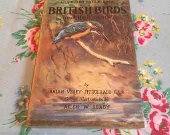 A vintage ladybird nature book of british birds