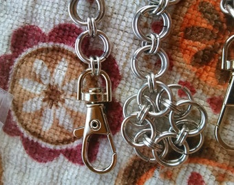 Flower Helms Weave Keychain
