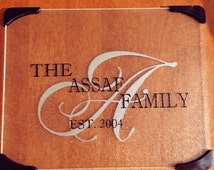 Personalized Glass Cutting Board / Customized house warming gift/ new home gift / cutting board / cheese tray