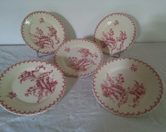 Dishes From Gien France