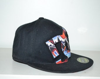 DC snap back hat / cap, Black, Blue, Yellow, red