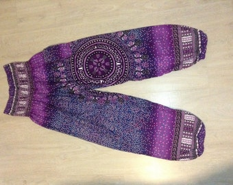 harem pants gypsy yoga pants colorful pants