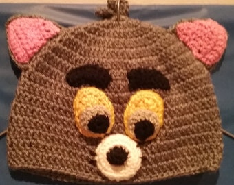 Girls Mouse Beanie