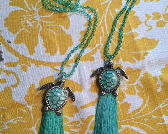 McCalla- Sea turtle tassel