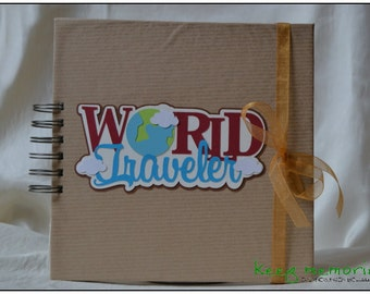 "Travel diary ""World Traveler"""