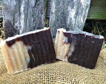 Mocha Mint - Goat's Milk Soap