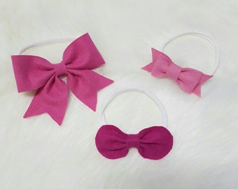 Felt Bows - Ayla Collection