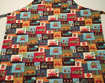 Cars and trucks apron