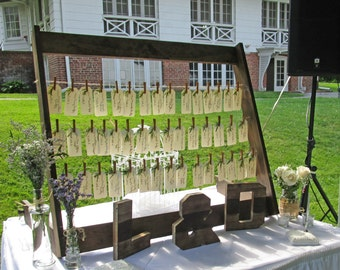 Wedding Place Card Display