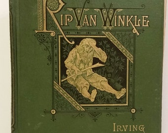 1st Illustrated Edition Rip Van Winkle 1863