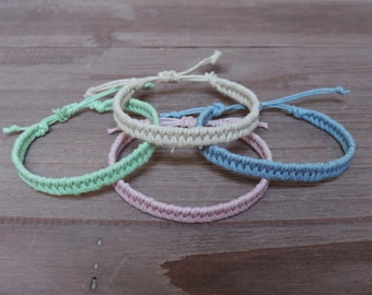 Candle rope Bracelet (assorted colors)