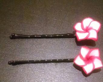 Pair of Flower Hairpins