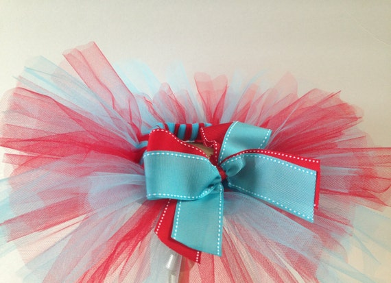 Red and Blue Baby/Infant Tutu