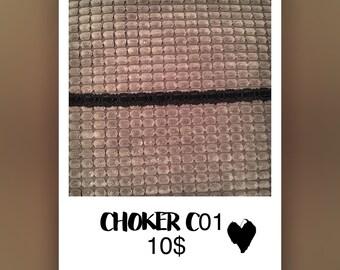 Handmade choker