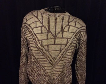 Vintage Open Neck Sweater